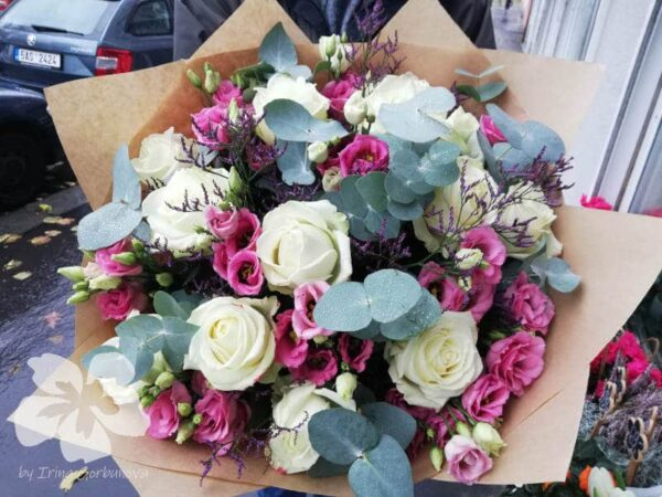A bouquet in Provence colours